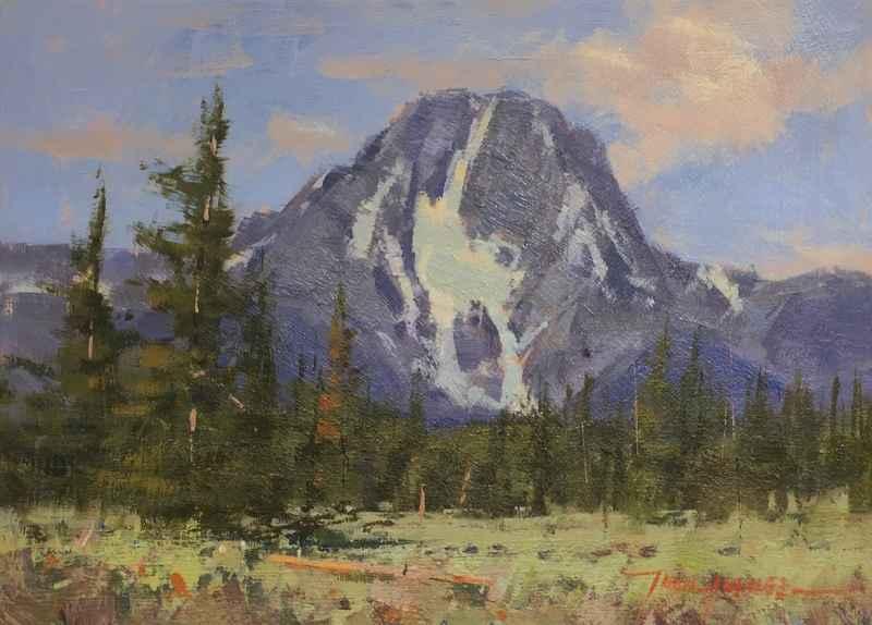 Mount Moran  by  John Hughes