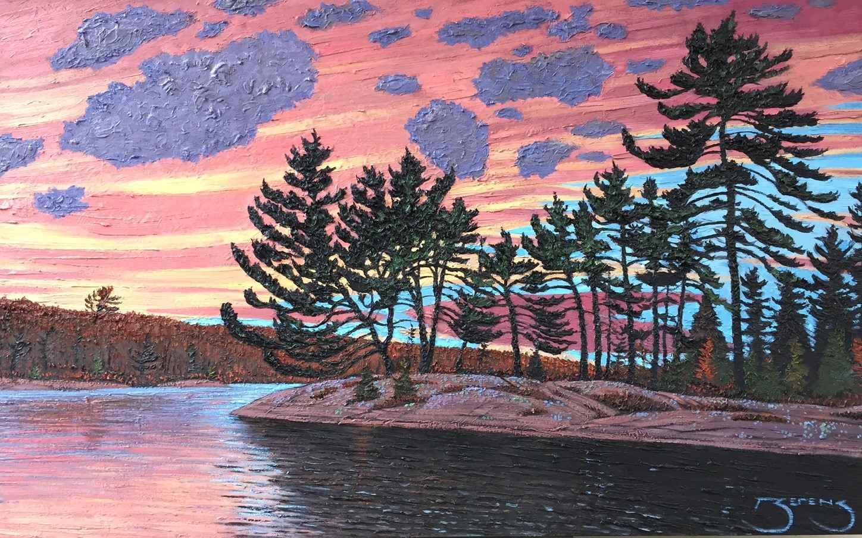 Canoe Island - DS 183... by  Mark Berens - Masterpiece Online
