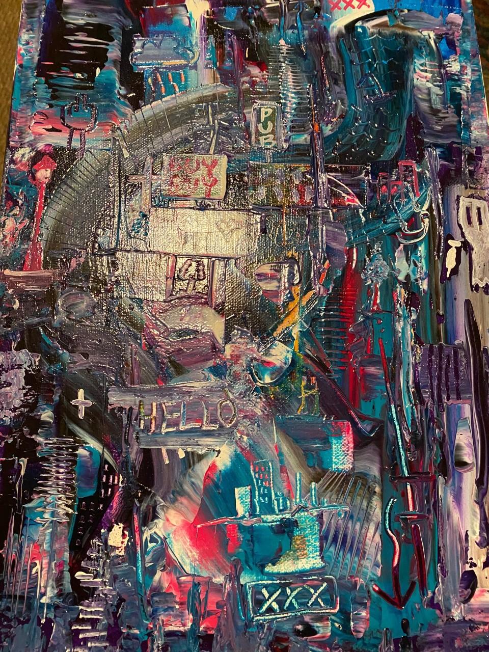 Stare Into the Dark t... by  Zero Gradient Stephen Irving - Masterpiece Online