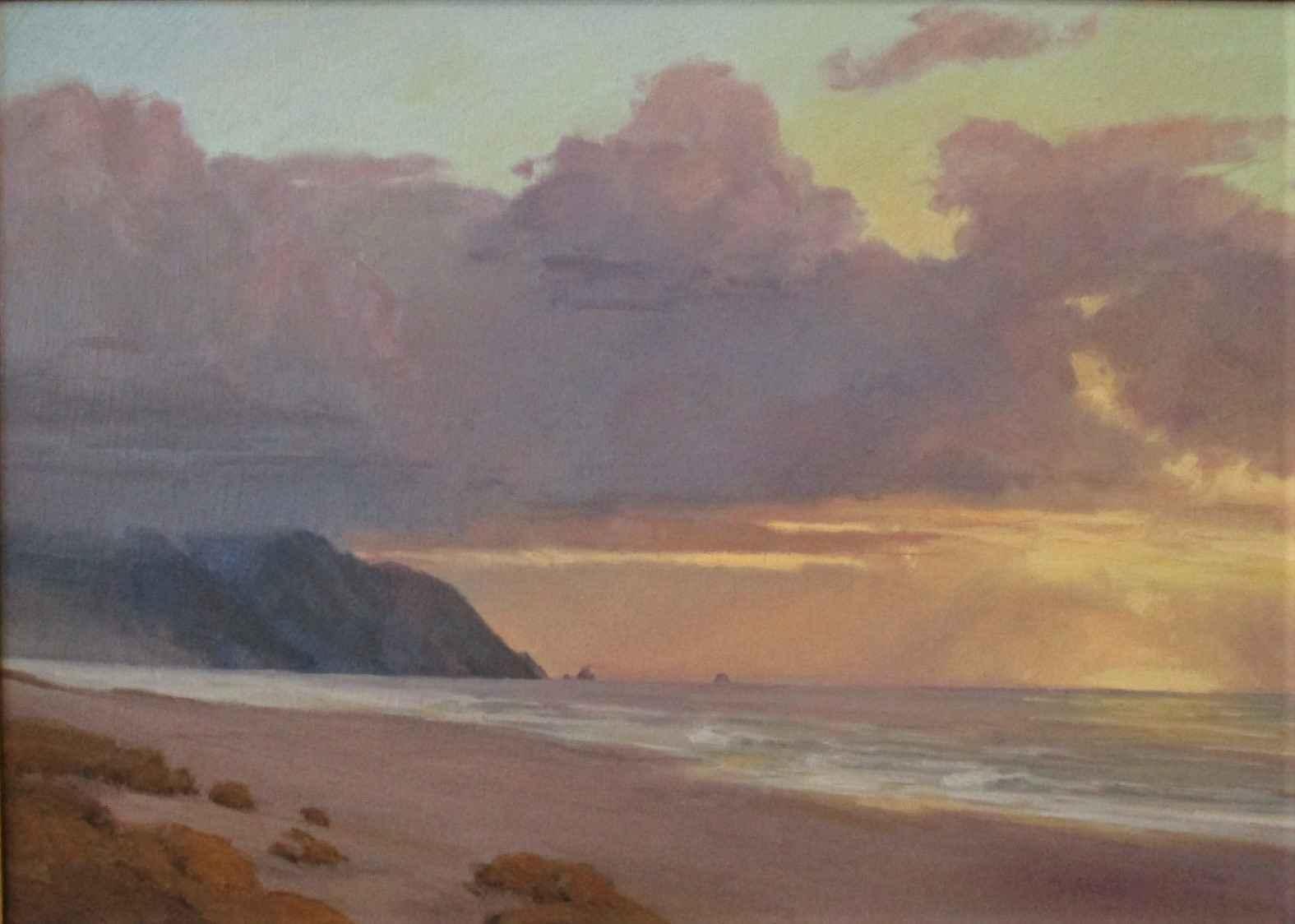Sunset Beach Oregon by  Josh Elliott - Masterpiece Online