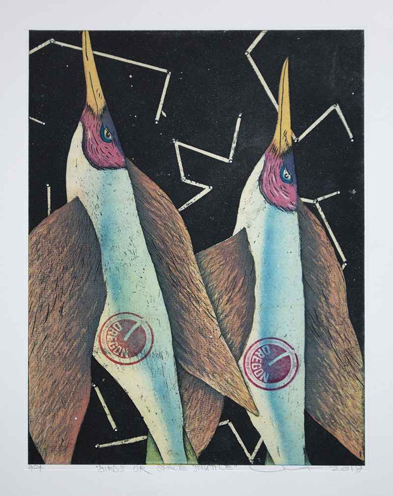 Birds or Space Shuttle by  Yuji Hiratsuka - Masterpiece Online