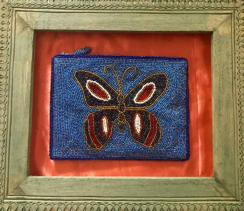 Teal Butterfly by  Roudy AZOR - Masterpiece Online
