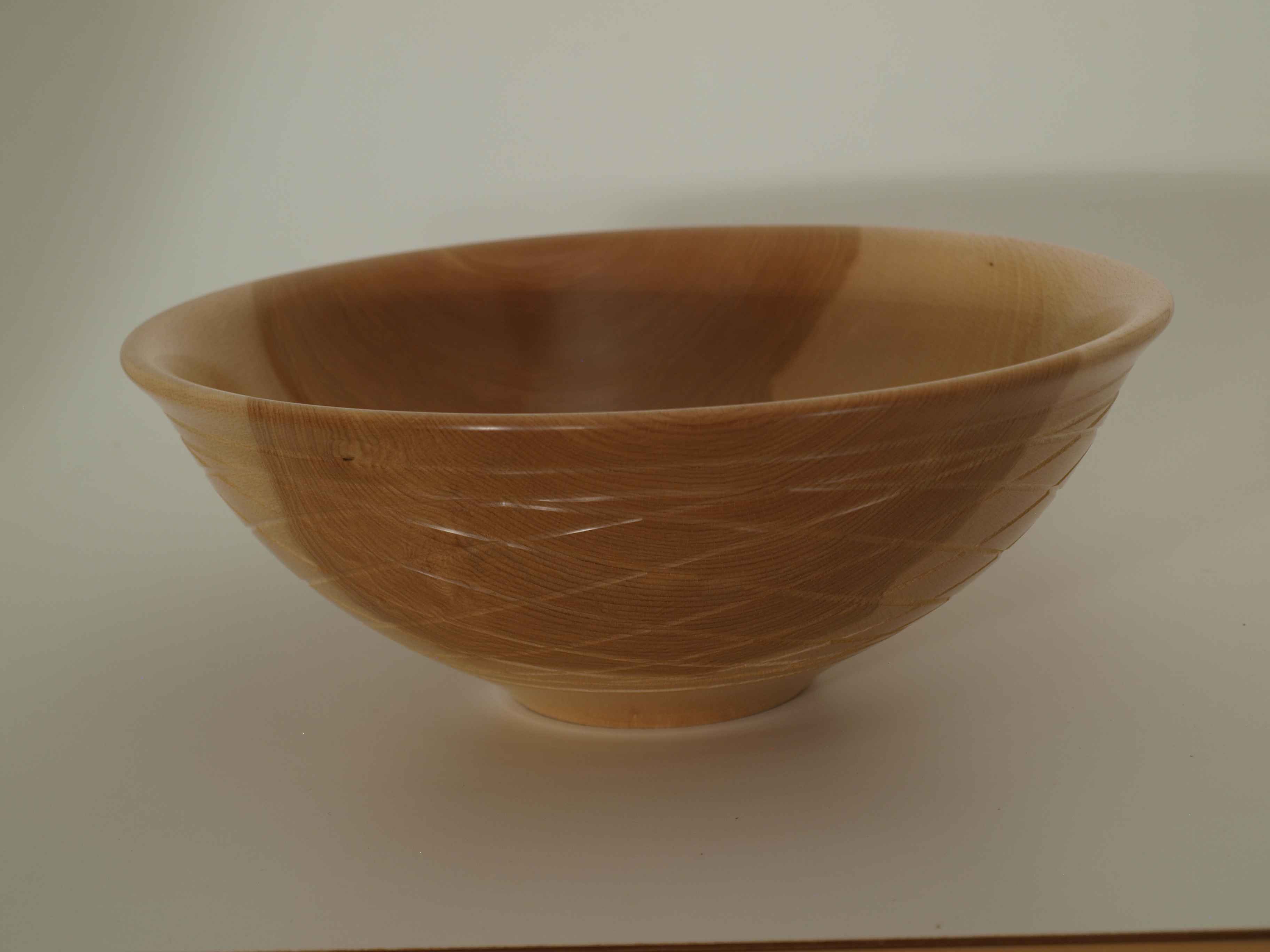 Beech Diamond Bowl