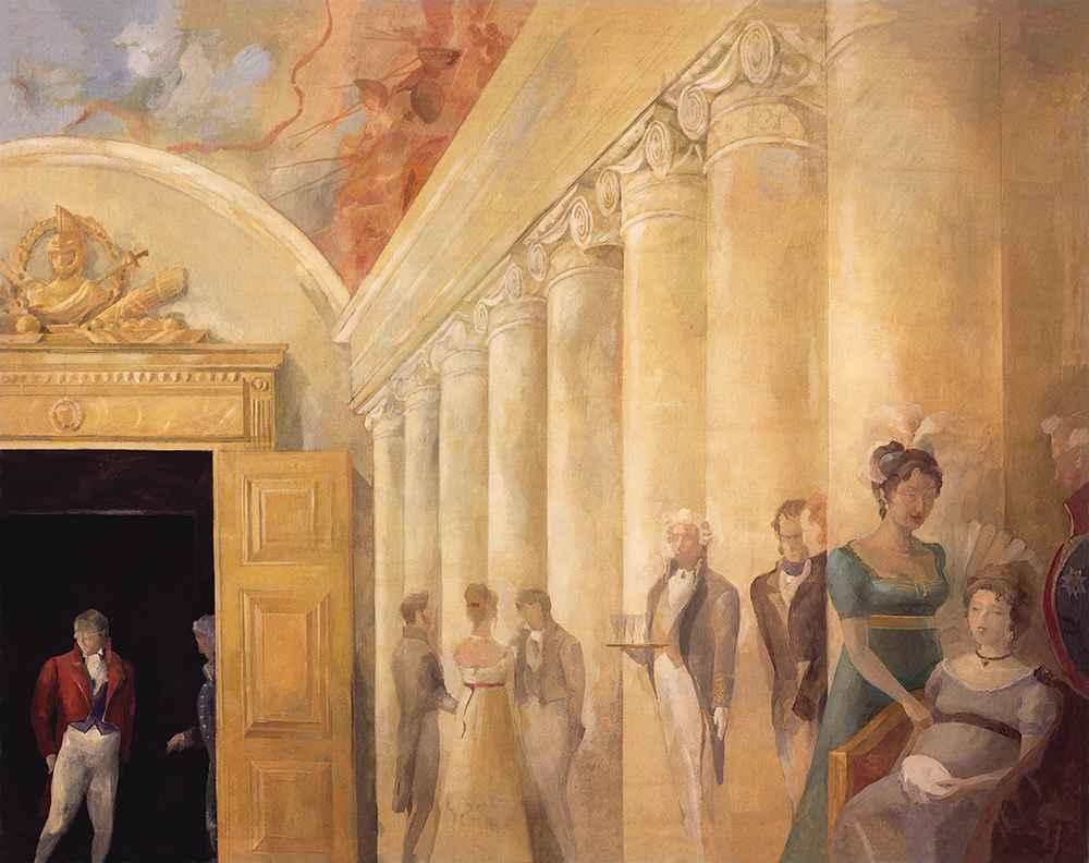 Salon of Anna Sherer  by  Igor Karash