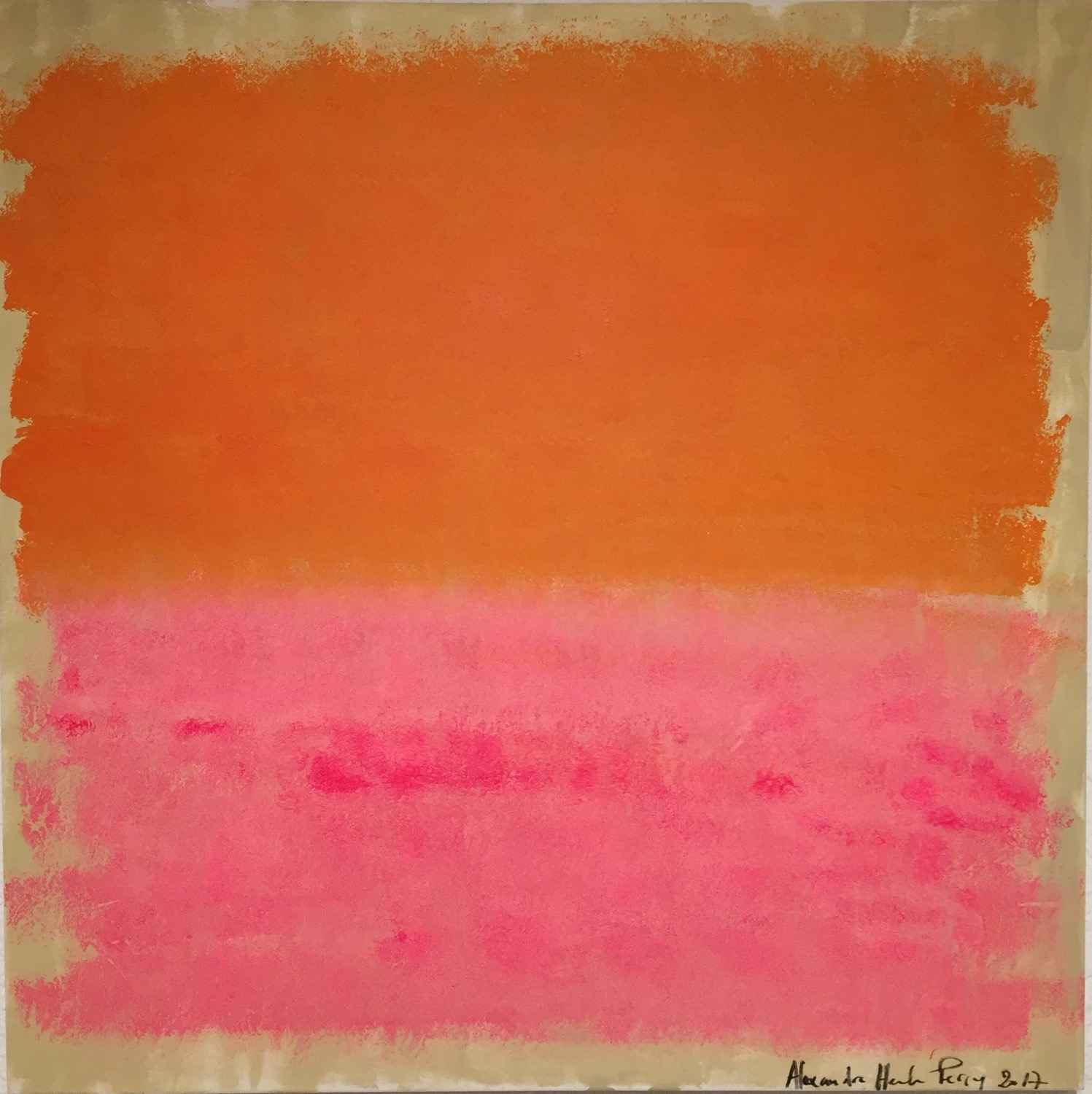 Fiery Pink 2 by  Alexandra HEUMBER PERRY - Masterpiece Online