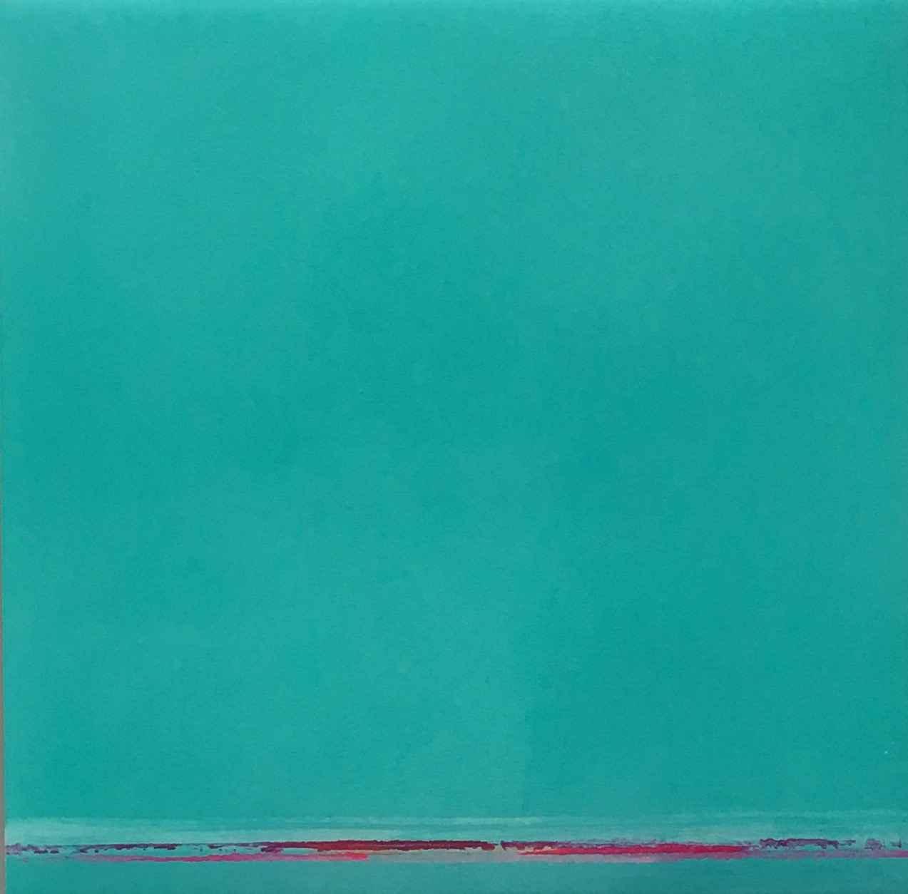 Z Turquoise Light by  Jane Fleetwood-Morrow - Masterpiece Online