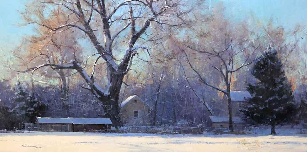 Them Winter Blues  by  Marc R. Hanson