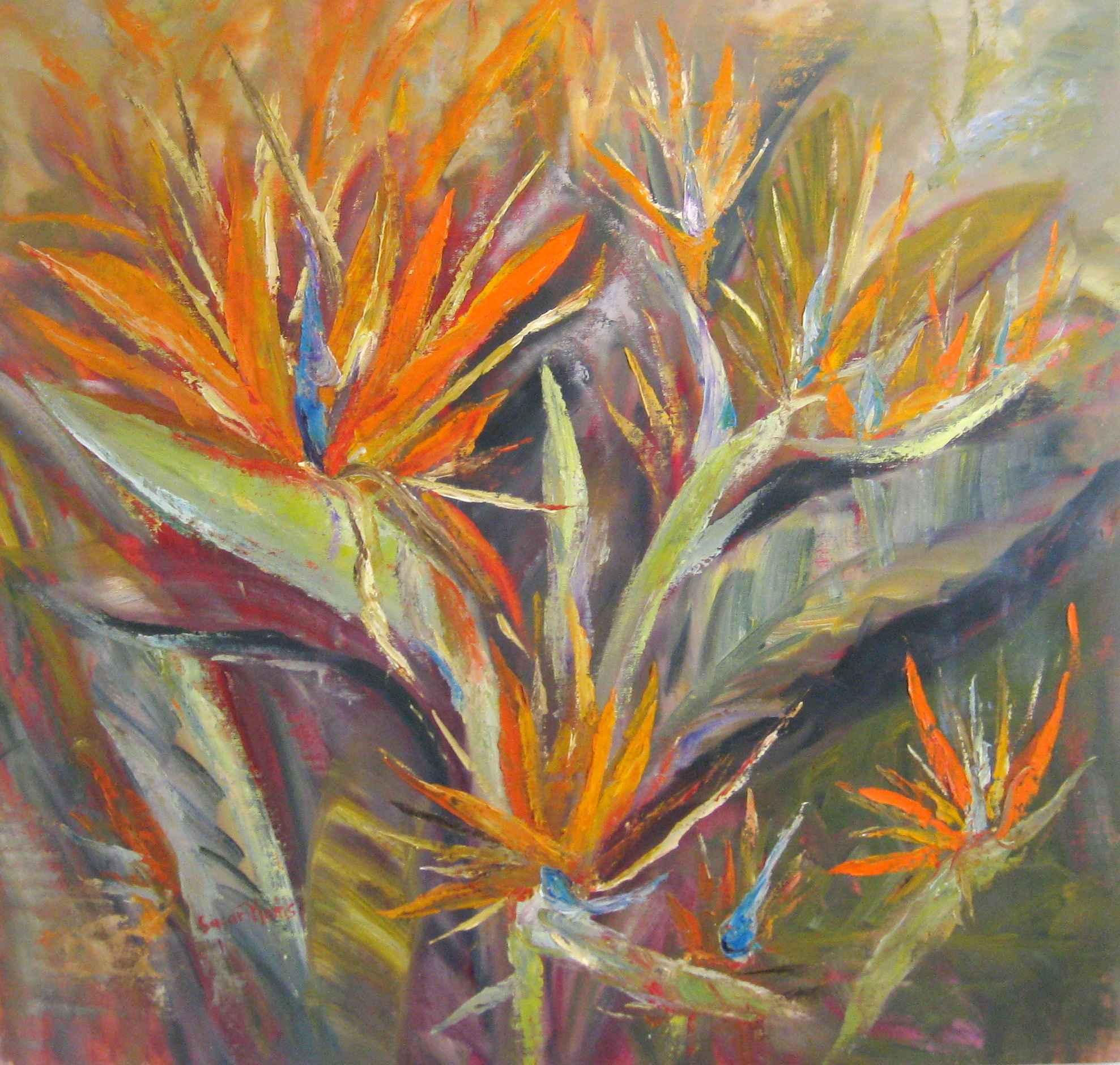 Orange Girl Group (Bi... by Mrs. Susan Mains - Masterpiece Online