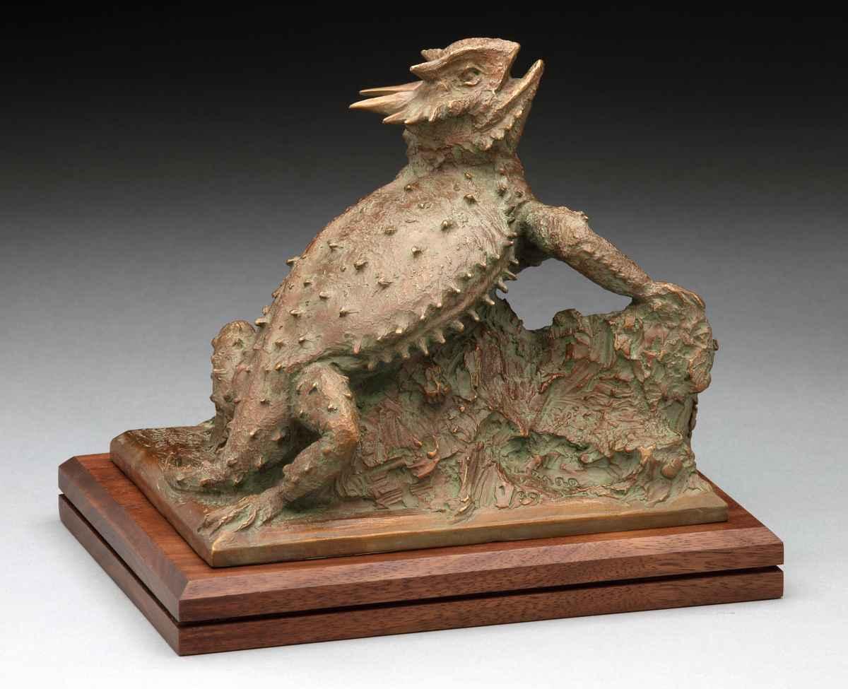 Lizard Alert by  Garland Weeks - Masterpiece Online