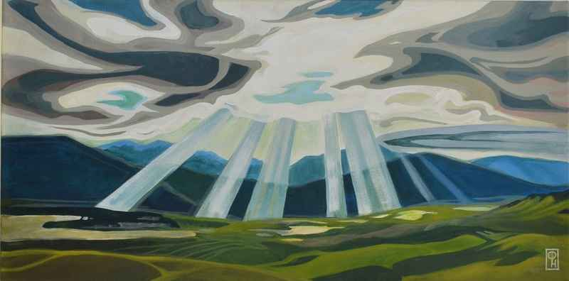 Illuminated Valley by  Erica Hawkes - Masterpiece Online