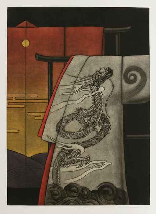 Dragon Kimono by  Katsunori Hamanishi - Masterpiece Online