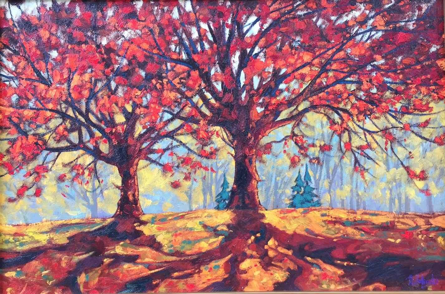 Leaves of Autumn by  Dominik Modlinski - Masterpiece Online