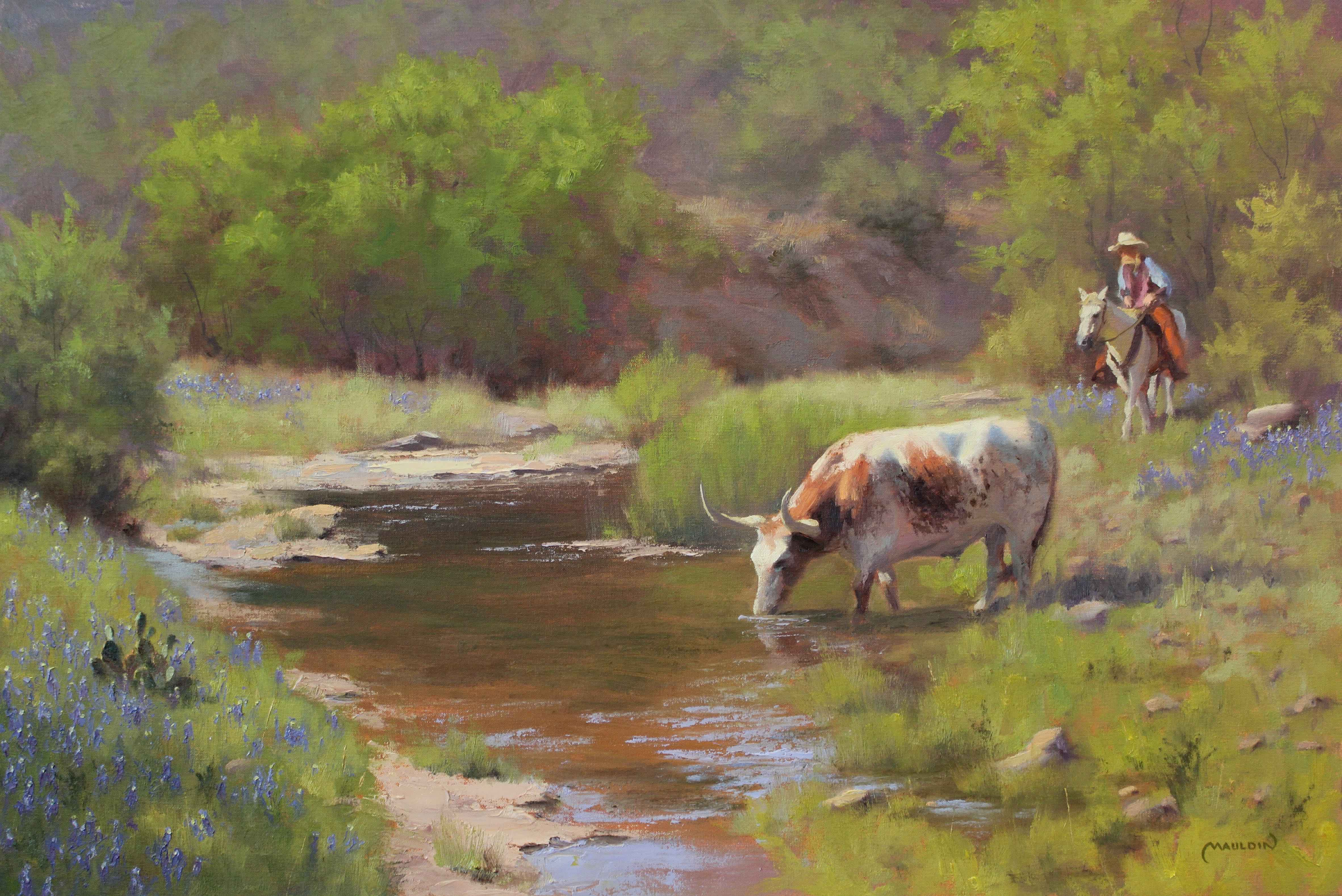 There You Are by  Chuck Mauldin - Masterpiece Online