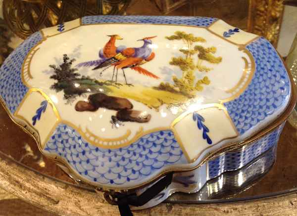 Porcelain Box by  French  - Masterpiece Online