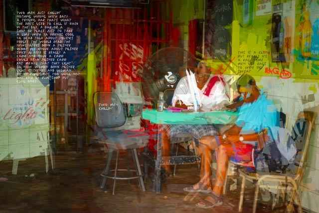 The Rum Shop carenage by  Christine Norton - Masterpiece Online
