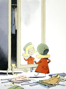 In Front Of The Mirror by  Martin Matje - Masterpiece Online