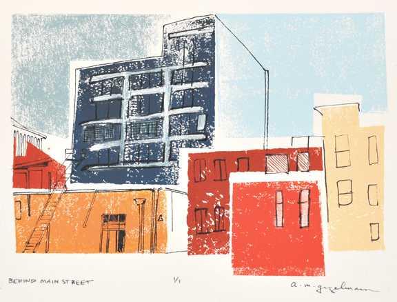 Behind Main Street, D...  by  Annemarie Gugelmann - Masterpiece Online