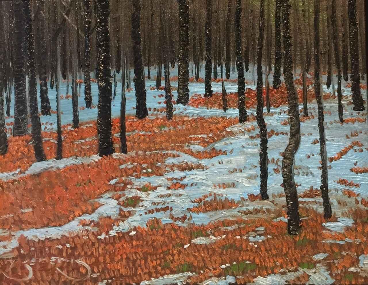 Spring Melt #2 Noisy ... by  Mark Berens - Masterpiece Online