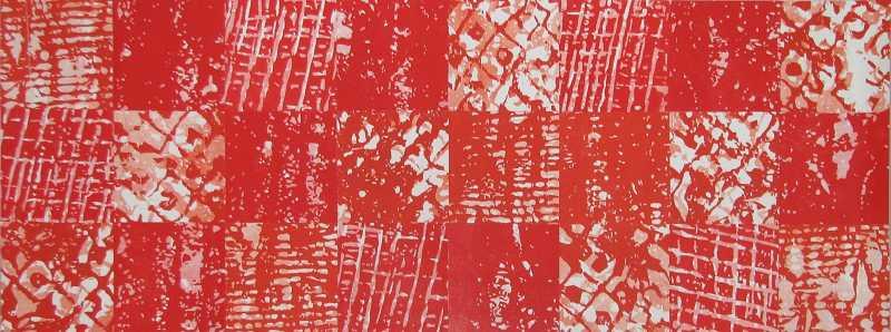 Untitled (Red/Orange) by  Abigail Romanchak - Masterpiece Online
