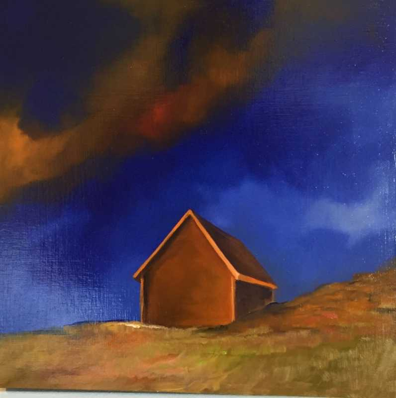 Ode to~ Lone Shack by  Steve Bowersock - Masterpiece Online