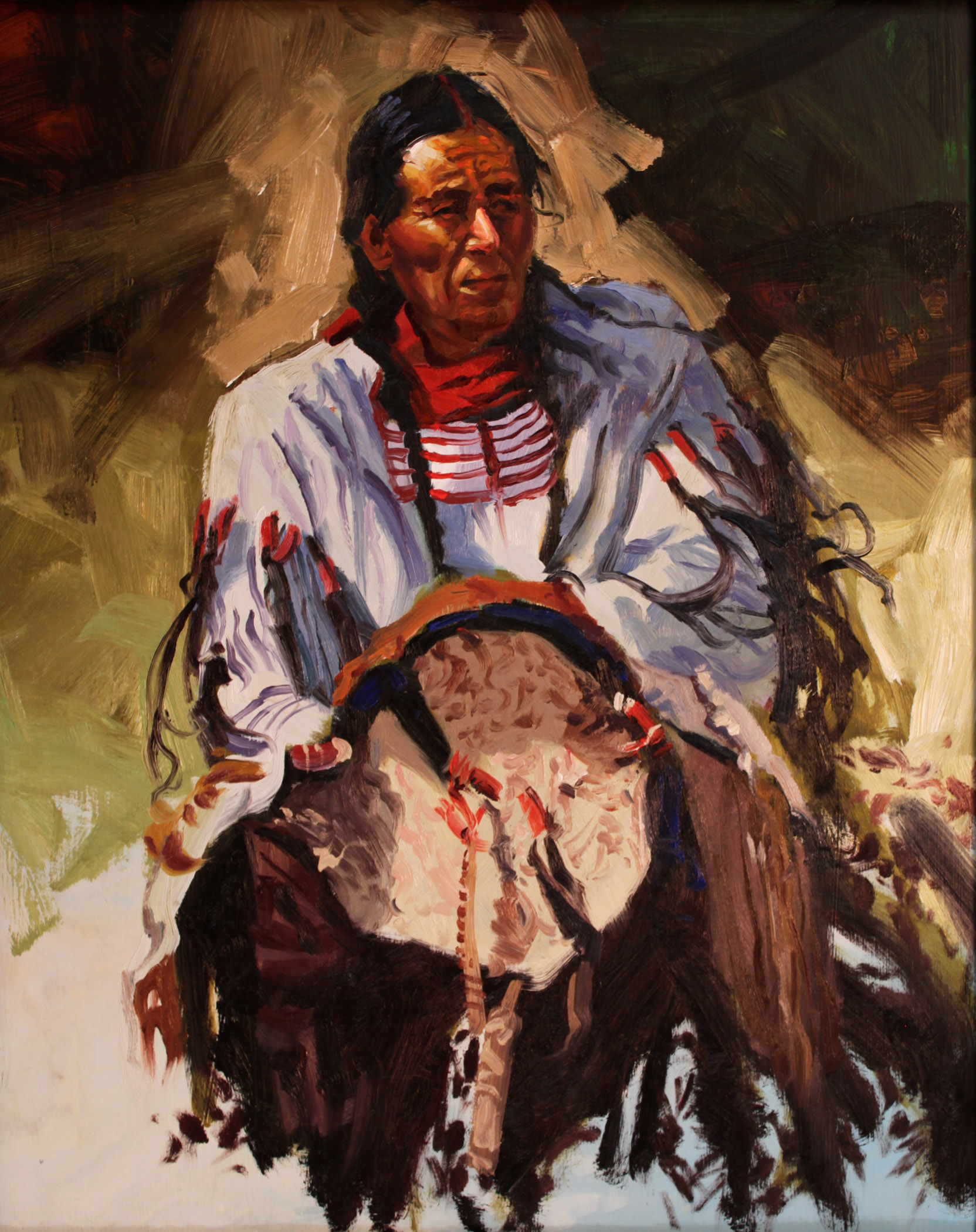 Buffalo Song by  Glen Edwards - Masterpiece Online
