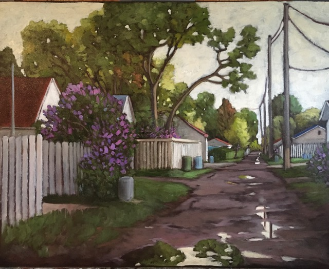 Lilac Afternoon by  Kari Duke - Masterpiece Online