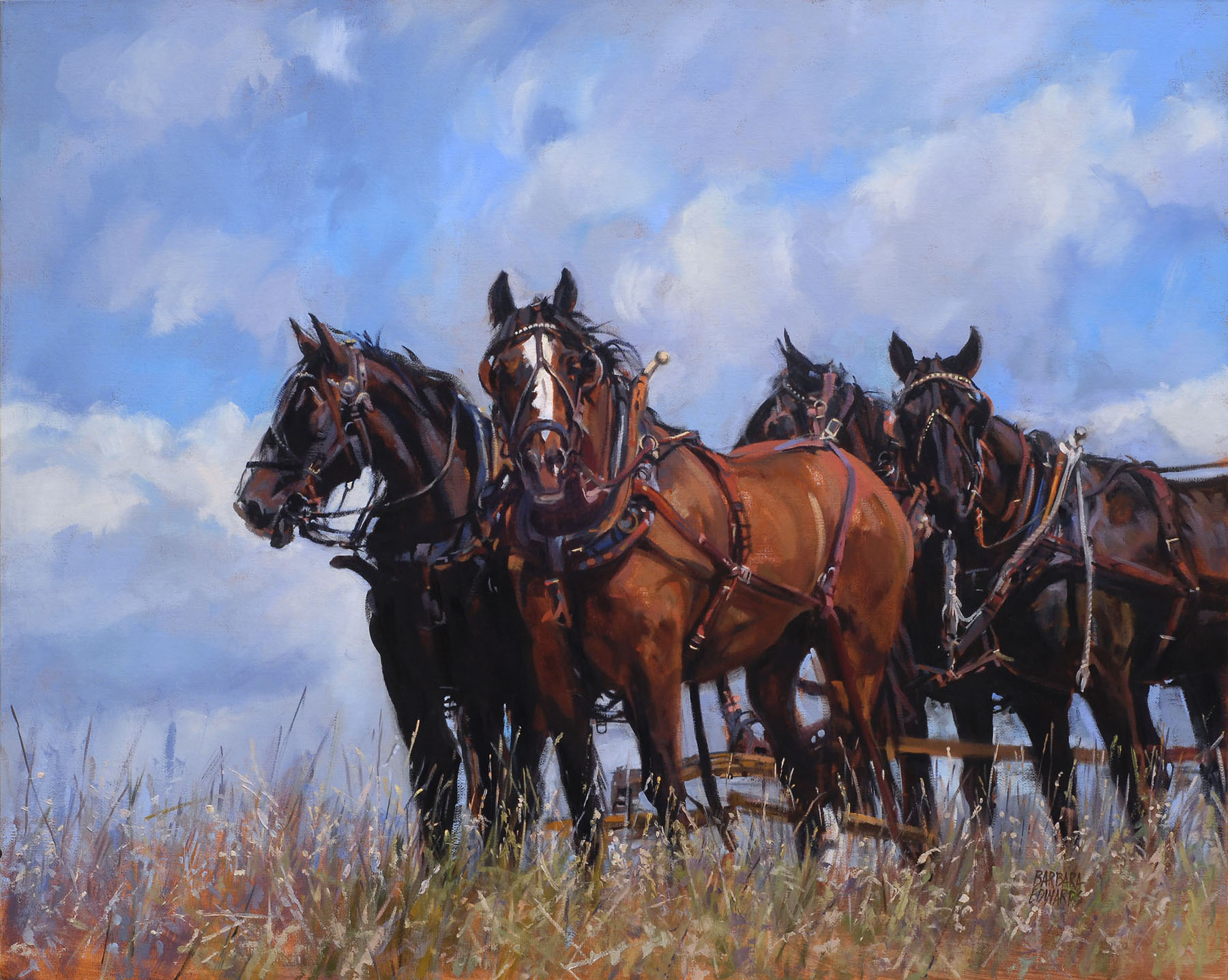 SOLD- Cooling Down by  Barbara Summers Edwards - Masterpiece Online