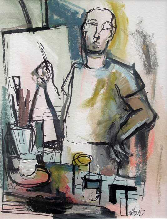 The Artist by  Amy Giust - Masterpiece Online