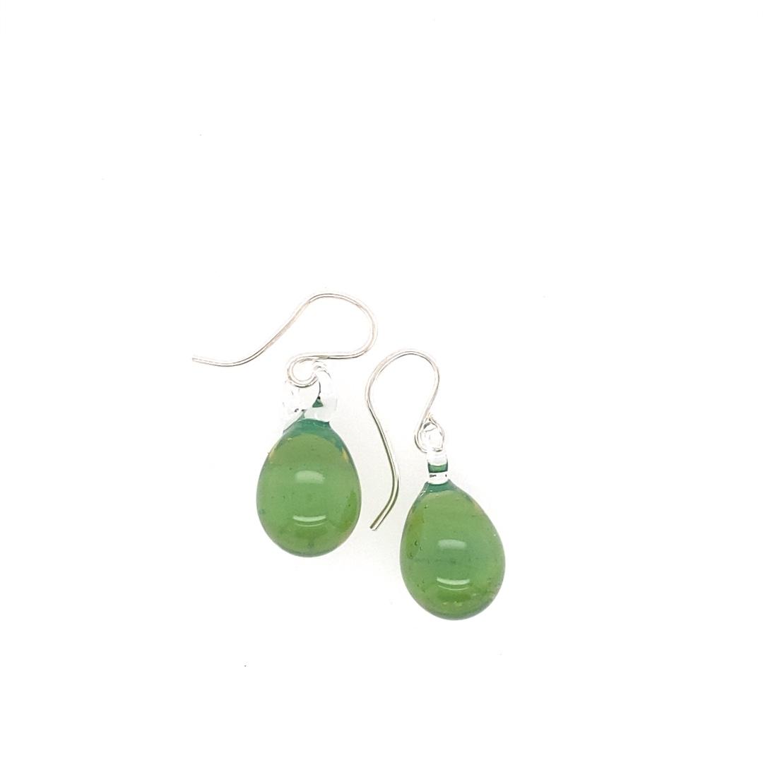 Sea Foam Green Berry Earrings