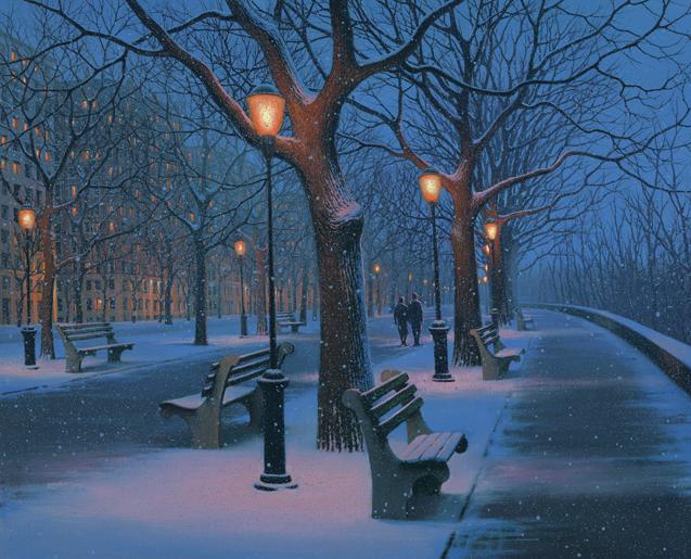 Winter Stroll by  Alexei Butirskiy - Masterpiece Online