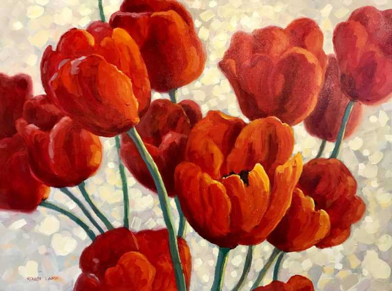 Tulips by  Robyn Lake - Masterpiece Online