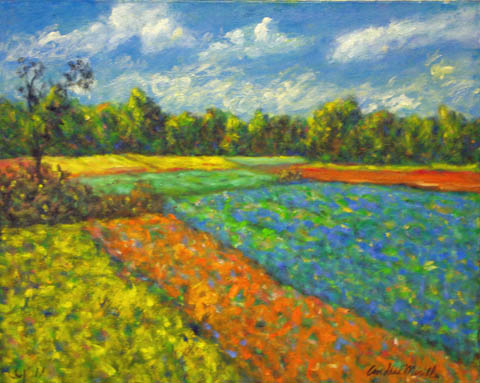 Field in the Morning by  Andres  Morillo - Masterpiece Online