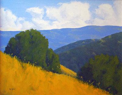 Garzas Canyon by  Donald  Craghead - Masterpiece Online