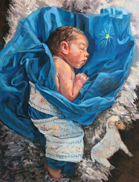 SOLD- Lamb of God by  Barbara Summers Edwards - Masterpiece Online