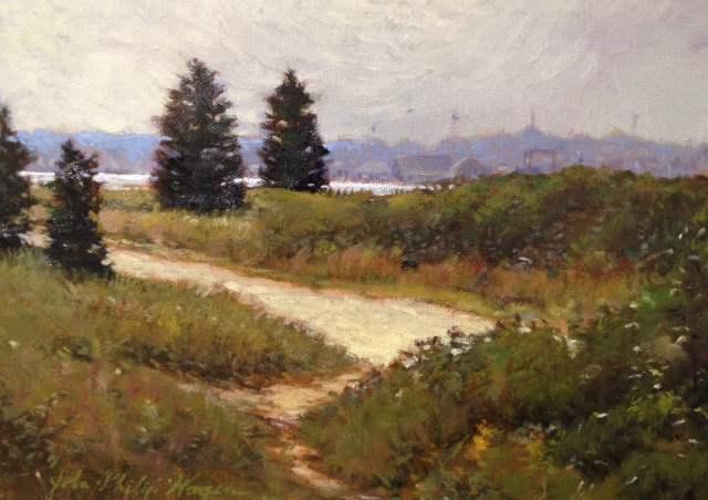 Through the trees to ... by  John Philip Hagen - Masterpiece Online