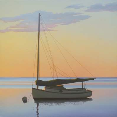 Twilight's Gleaming by  Jim Holland - Masterpiece Online