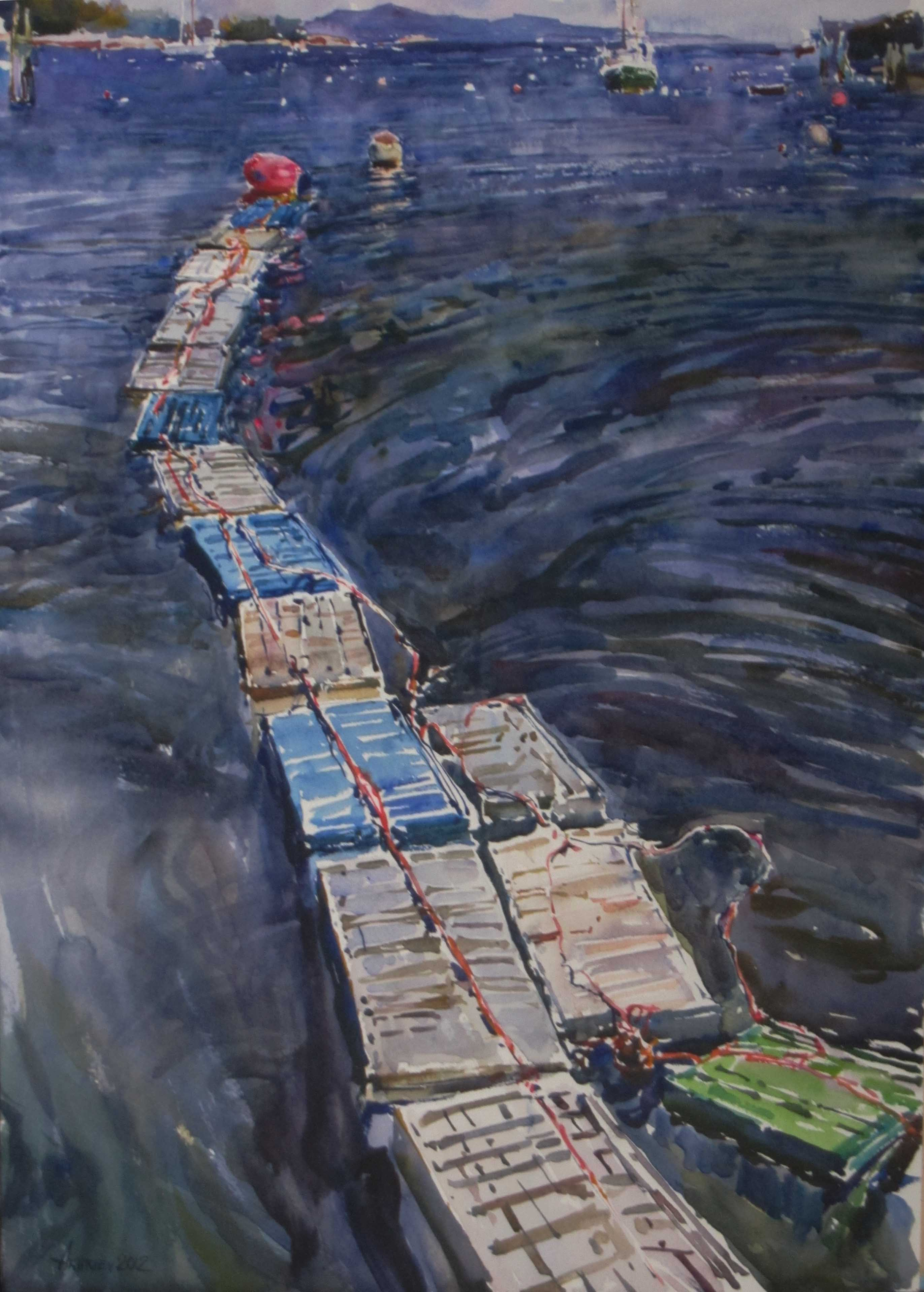 Lobster Traps by  Daud Akhriev - Masterpiece Online