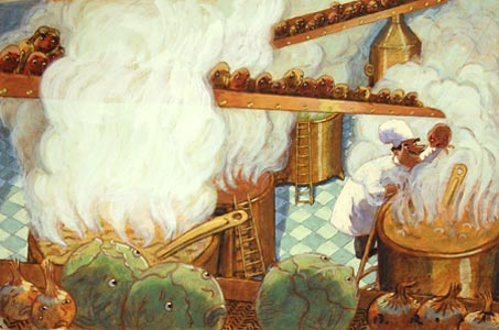 Copper Cauldron  by  Barry Root