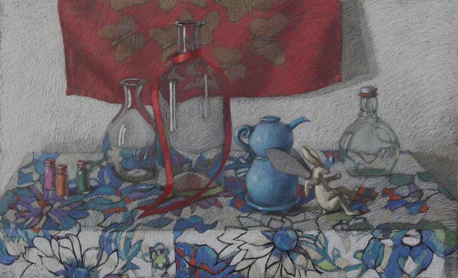 The Blue Teapot by  Melissa Hefferlin - Masterpiece Online