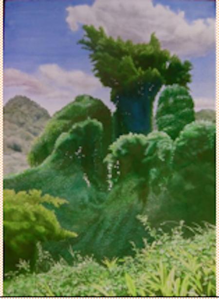 Manoa Rainforest III:... by  Robert Benjamin Norris (1910-2006) - Masterpiece Online
