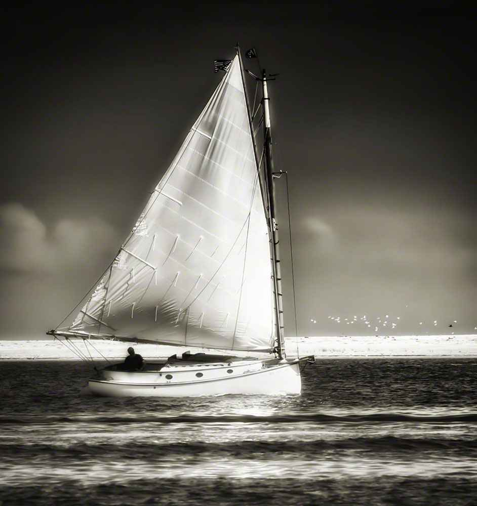 Sailing Off Morris Is... by  Bobby Baker - Masterpiece Online