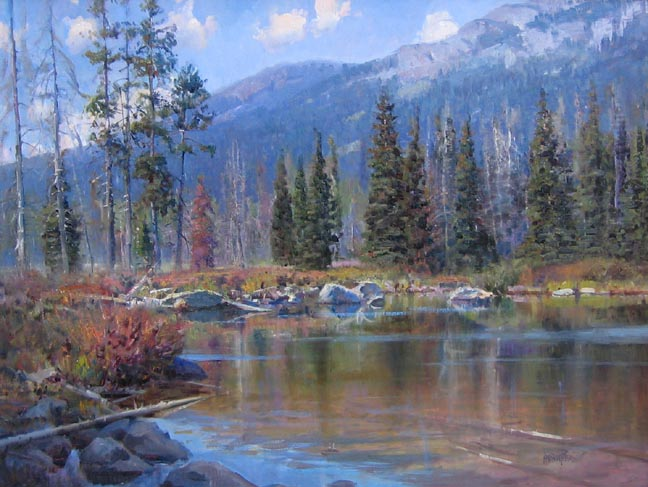 Taggert Lake Tim Dunc... by Mr. & Mrs. Andrew Peters - Masterpiece Online