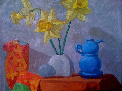 Giant Daffodils by  Melissa Hefferlin - Masterpiece Online