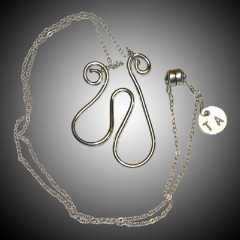 TA5891 Heart Necklace by  Terrie Allen - Masterpiece Online