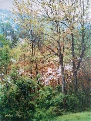 Rainy April by  Michael Wheeler - Masterpiece Online