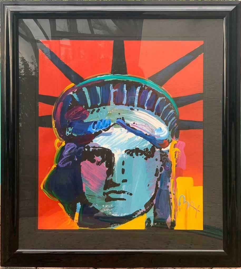 Liberty Head (44x39 F... by   Max, Peter - Masterpiece Online