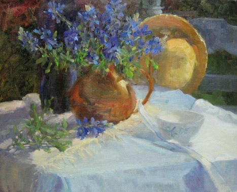 Texas Bluebonnets by Ms Peggy Kingsbury - Masterpiece Online