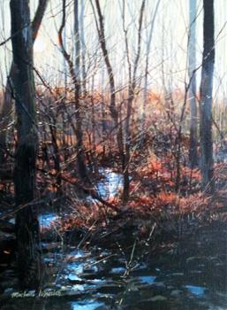 Sparkling Stream - La... by  Michael Wheeler - Masterpiece Online