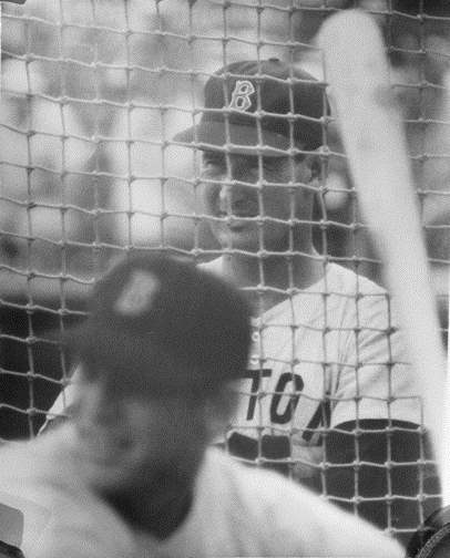 Ted Williams Watching...