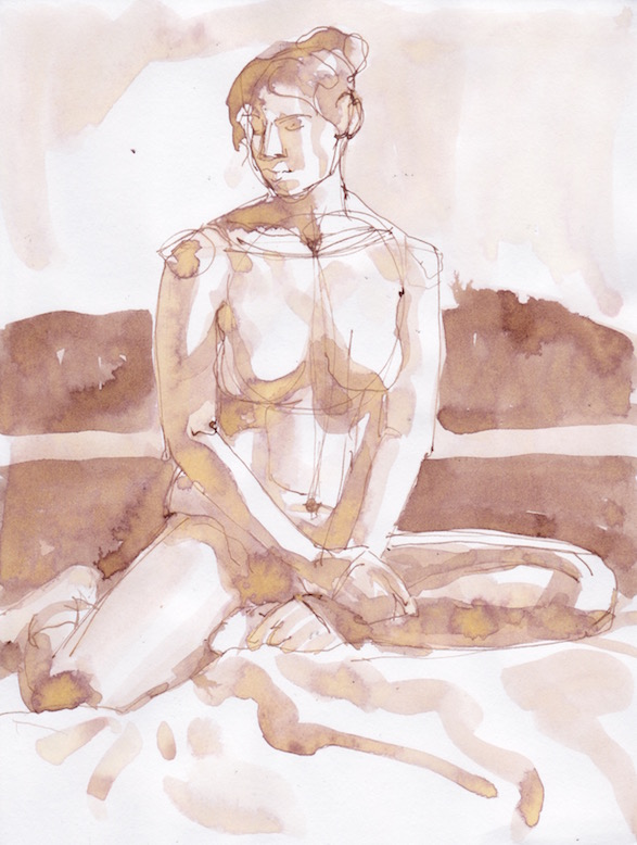 Figure Sketch: 18 by  Melissa Hefferlin - Masterpiece Online